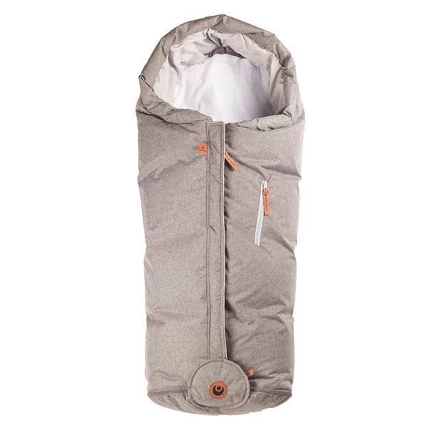 Easygrow HOOD Norse Kørepose - Grey Melange 14049 unisex  Grå