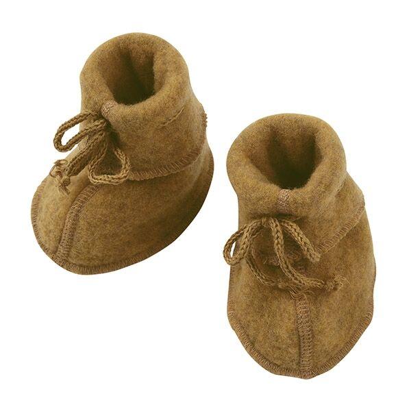 Engel Uldfleece Baby Futter i Safran - Engel 6 mdr. unisex  gul