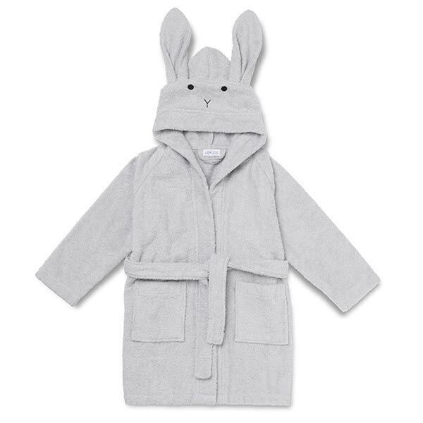 Liewood Badekåbe Rabbit - Dumbo Grey
