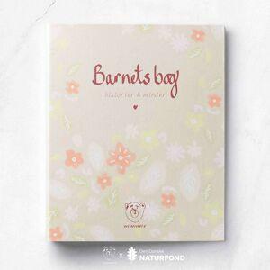 WITHWHITE Barnets Bog Ringbind - Rosa Blomster