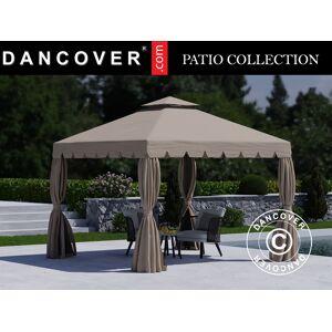 Dancover Pavillon /Havepavillon Osiris 3x3m, Mørk beige