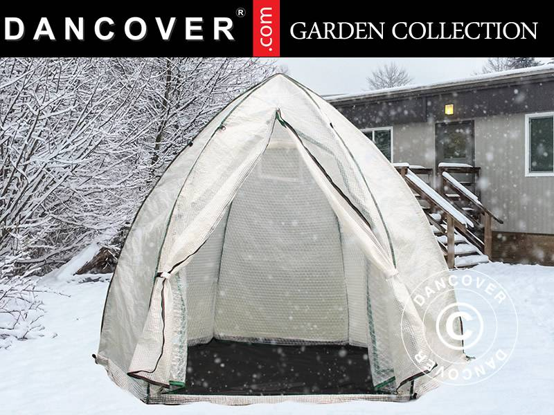 Dancover Overvintrings drivhus, 2,5x2,5x2m