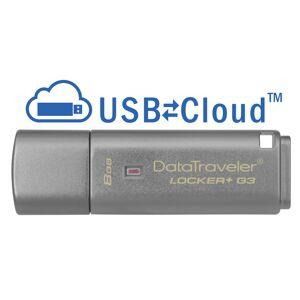 Kingston 8GB 3.0 DTLPG3 w/Hardware encryption, USBtoCloud DTLPG3/8GB