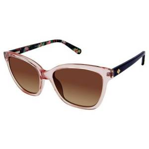 Sperry LAGOON Solbriller  female Transparent Pink