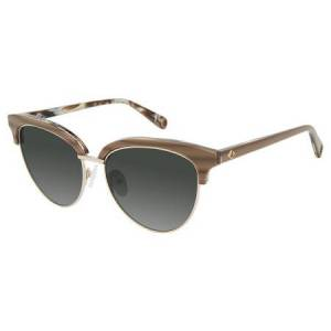 Sperry CROSSHAVEN Polarized Solbriller  female Marble Brown