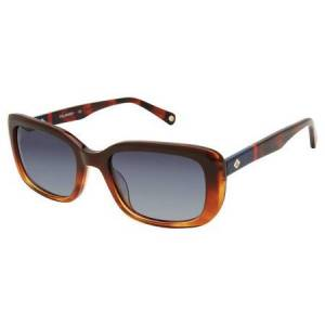 Sperry ROSEFISH Polarized Solbriller  female Shiny Brown