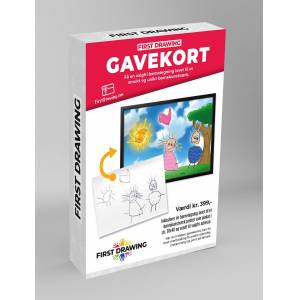 First Drawing - Gavekort