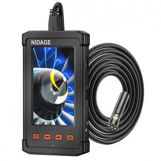 Nidage 8 mm endoskop FullHD dobbelt kamera  - 5m