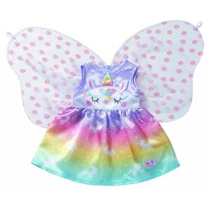 Baby Born Unicorn Fairy Outfit 43m