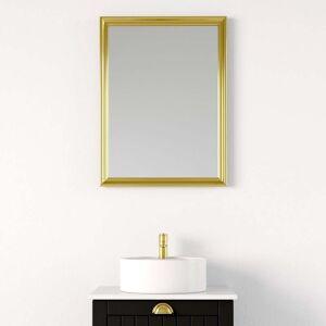 BDA Living Spejl Gedser med Antik Guldramme, 60-120 cm - 90 x 80 cm
