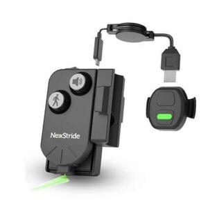 NexStride - Visuel og Auditiv Guidning mod Freeze of Gait - viser vej for personer med Parkinsons