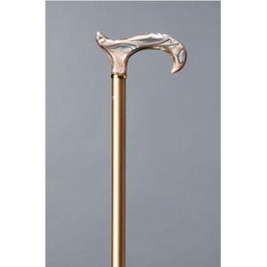 Elegant spadserestok i aluminium med champagnefarvet akrylhåndtag fra Gastrock