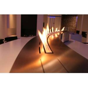 Decoflame Denver Curved e-Ribbon Fire™ 2000