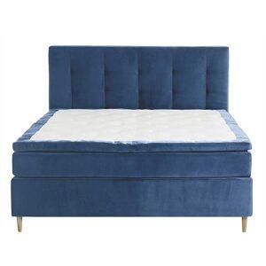 Livingbed Velour Sandwich Kontinental Imperia LUX blå 140x200 cm
