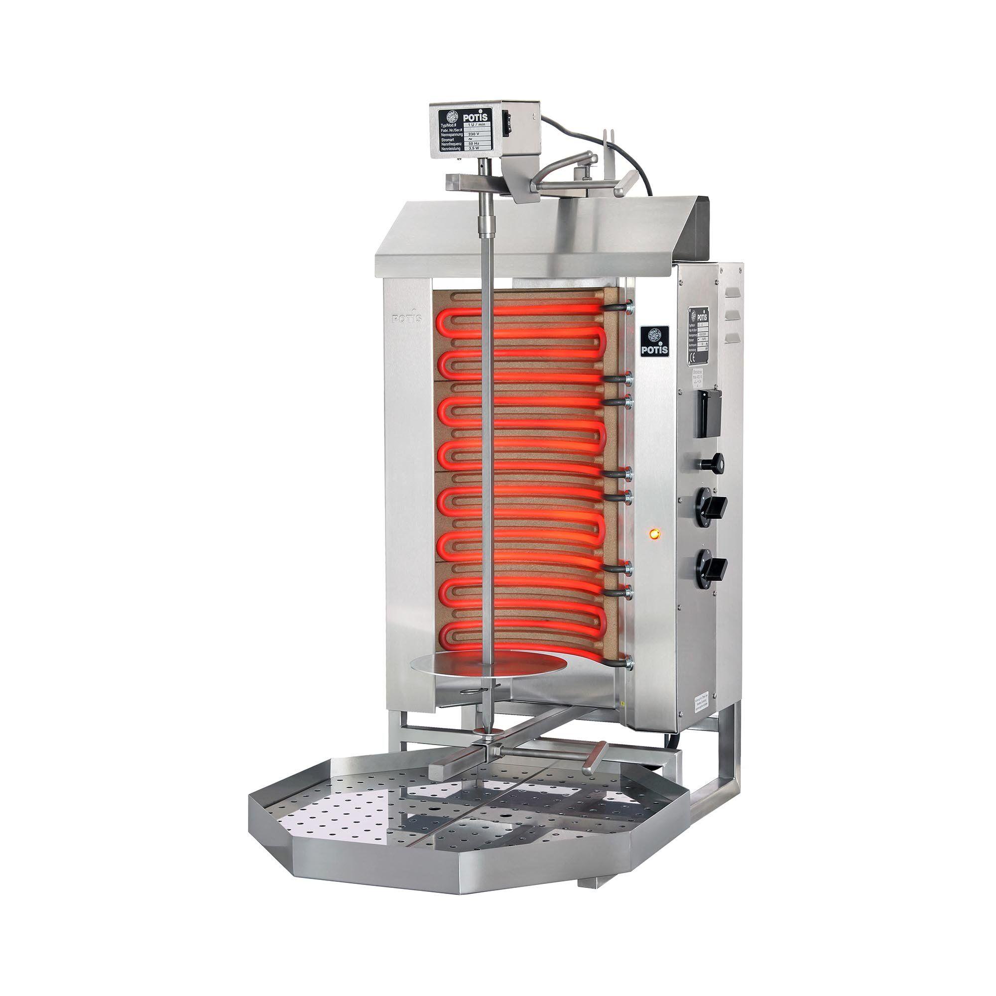 POTIS Dönergrill - 6.000 W - elektrisk POTIS E2-S
