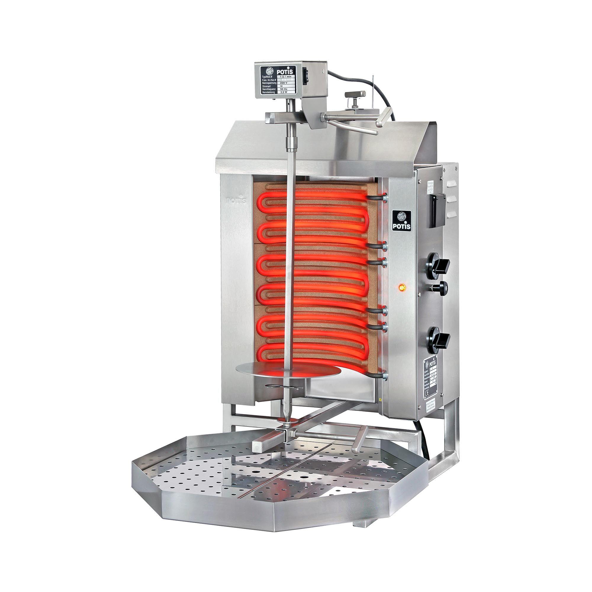 POTIS Dönergrill - 4.500 W - elektrisk POTIS E1-S
