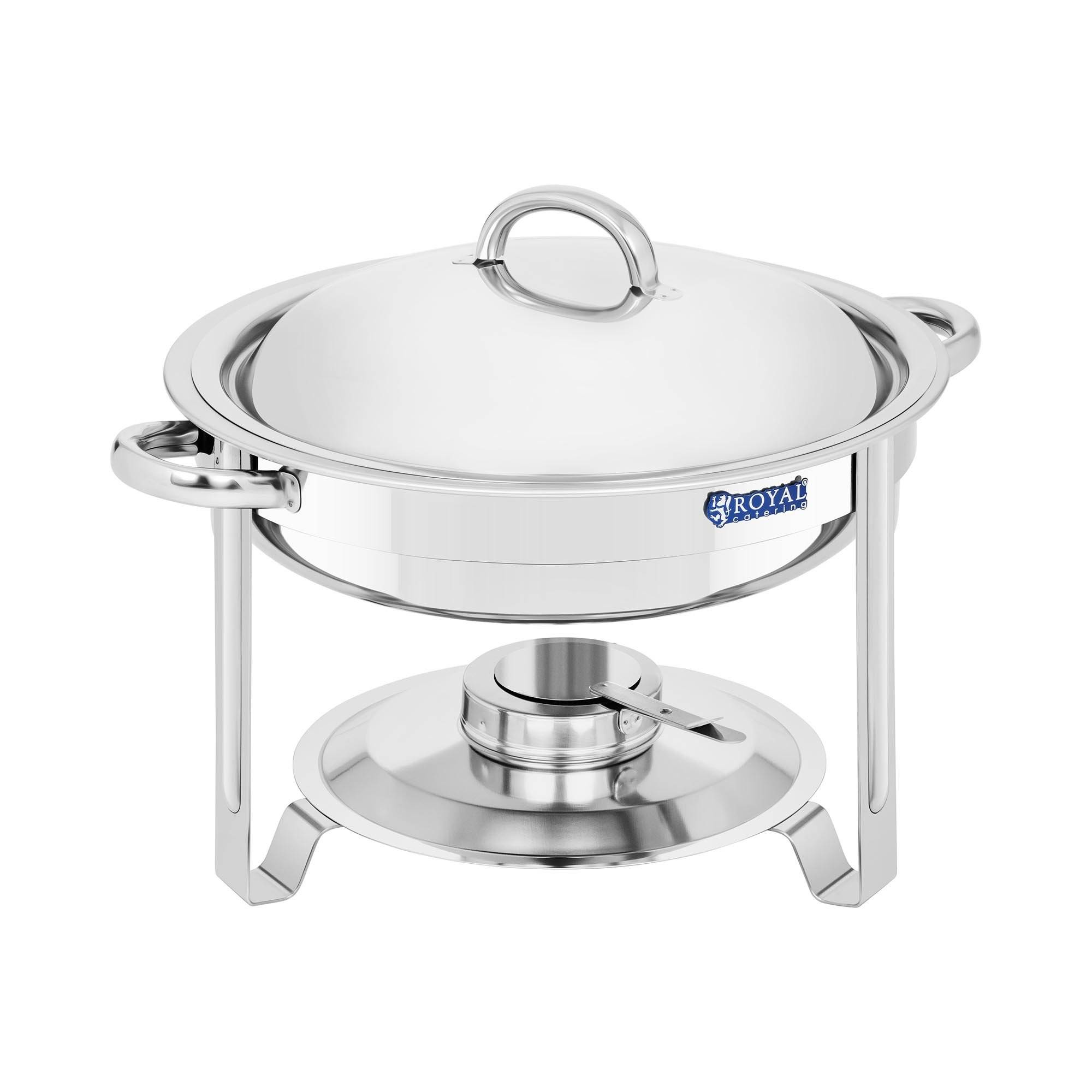 Royal Catering Chafing dish - rund - 3,6 l RCCD-5-60