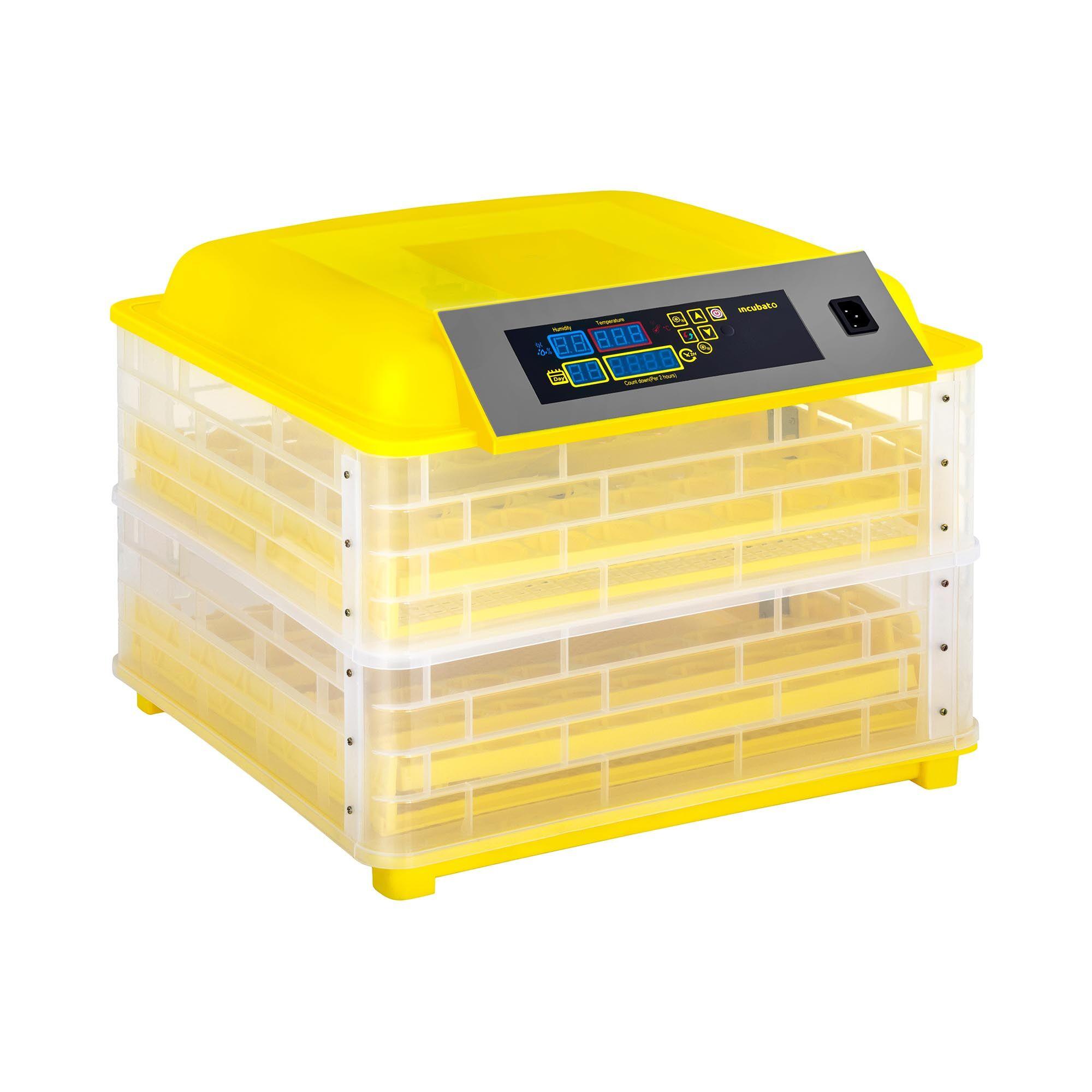 incubato Rugemaskine - 112 æg - inkl. gennemlysningslampe - fuldautomatisk IN-112DDI