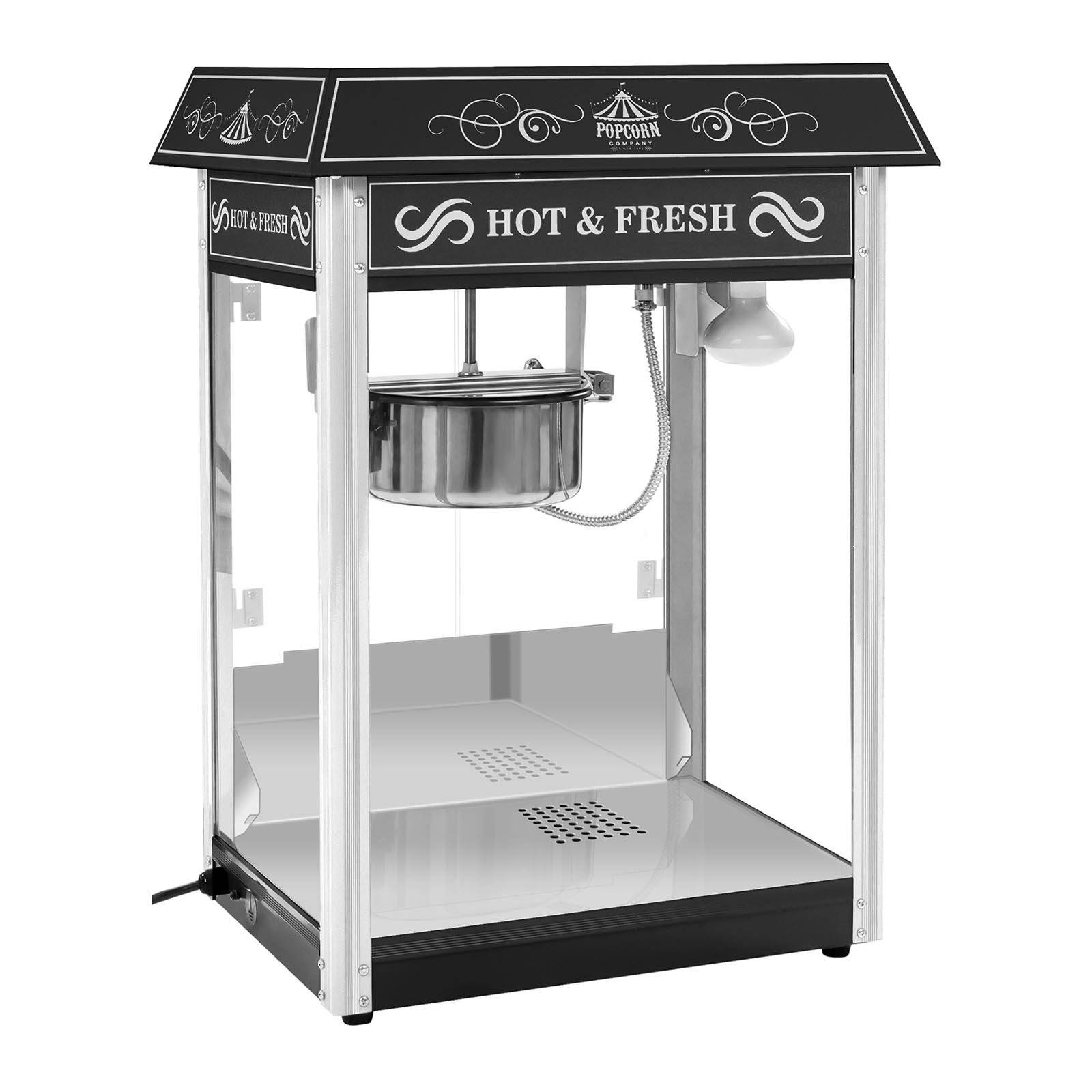 Royal Catering Popcornmaskine - sort tag RCPS-16.2