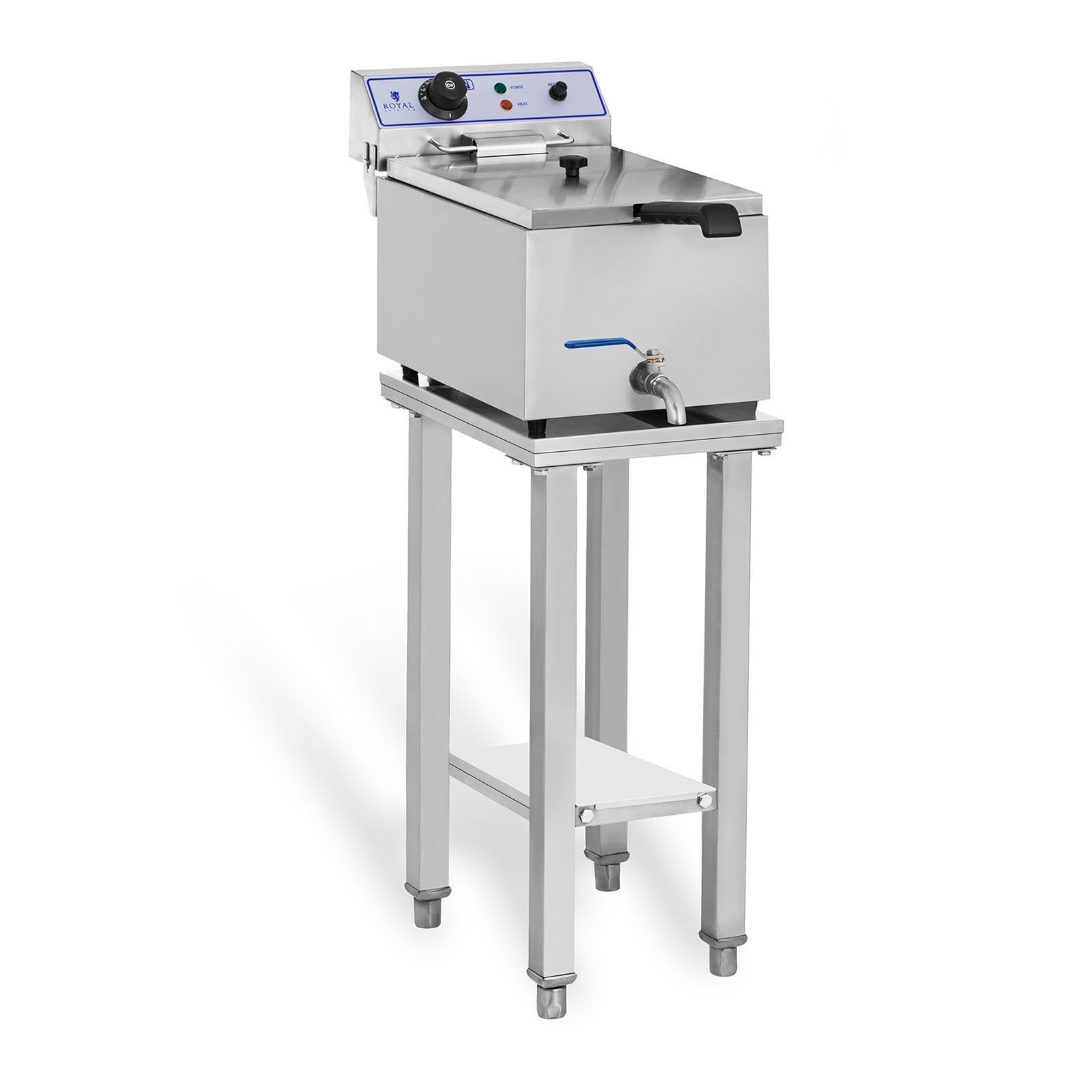 Royal Catering Elektro-friture-koger - 1 x 17 liter - med understel RCEF-SET1