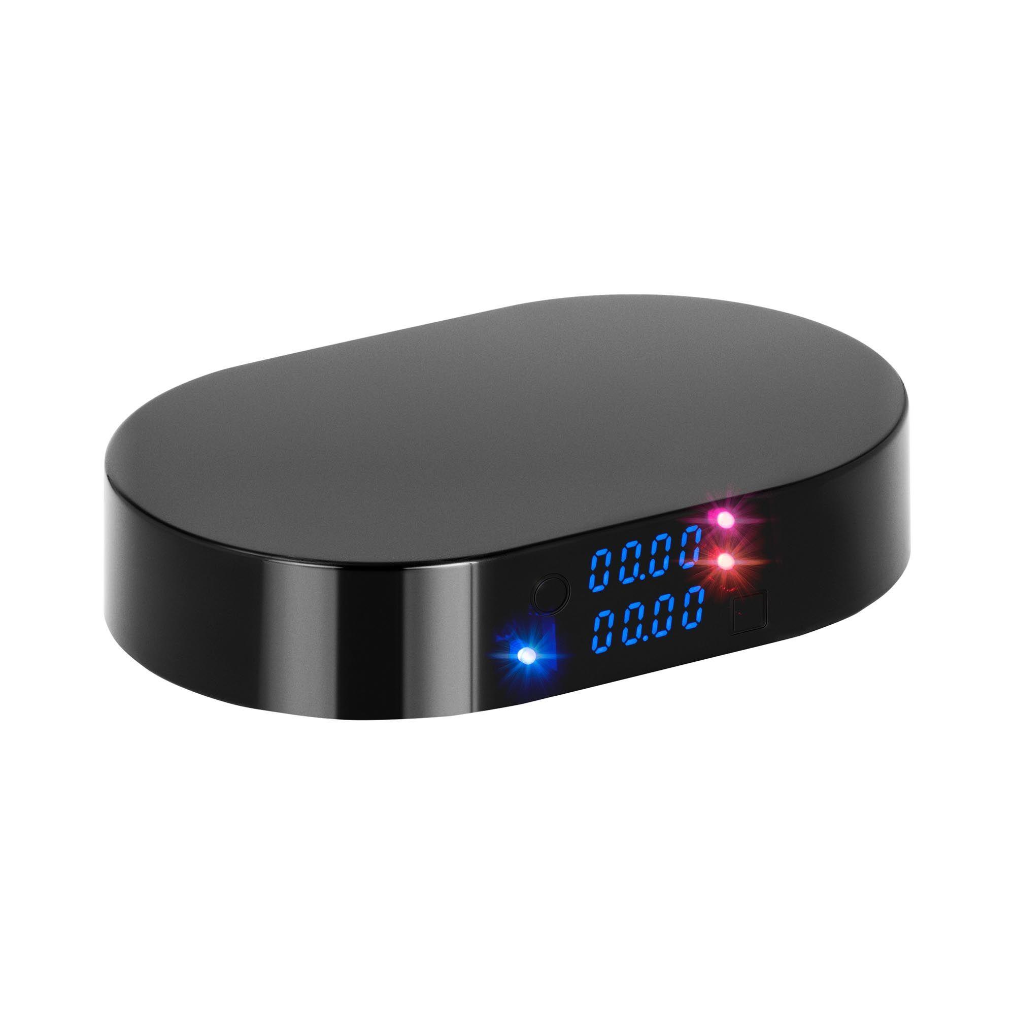 Steinberg Systems Kaffevægt - 2 kg - 1 g / 500 g - 158 x 103 mm - Bluetooth - timer SBS-CS-2000E