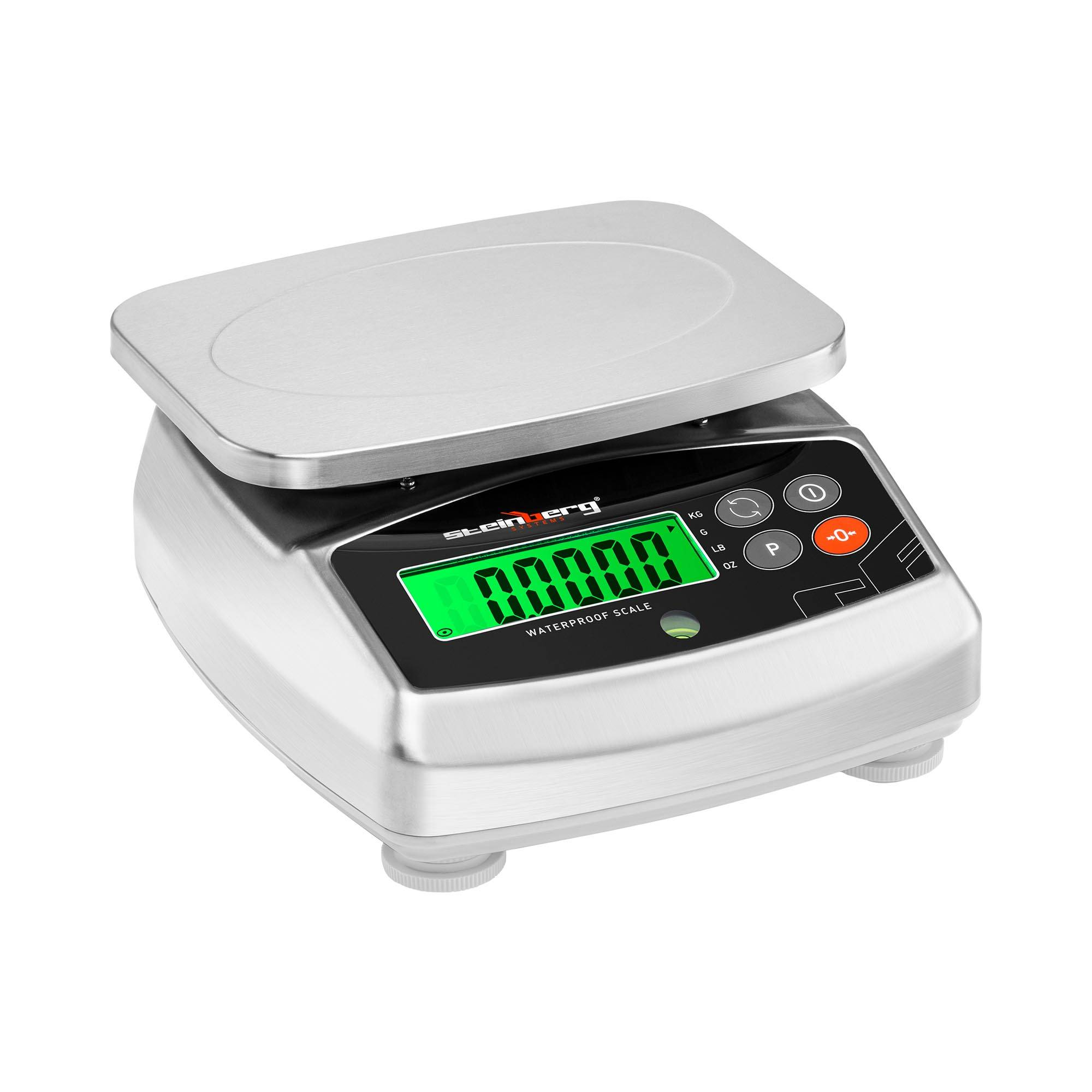 Steinberg Systems Digital bordvægt - 15 kg / 5 g - 21 x 16 cm - LCD SBS-WPS-15