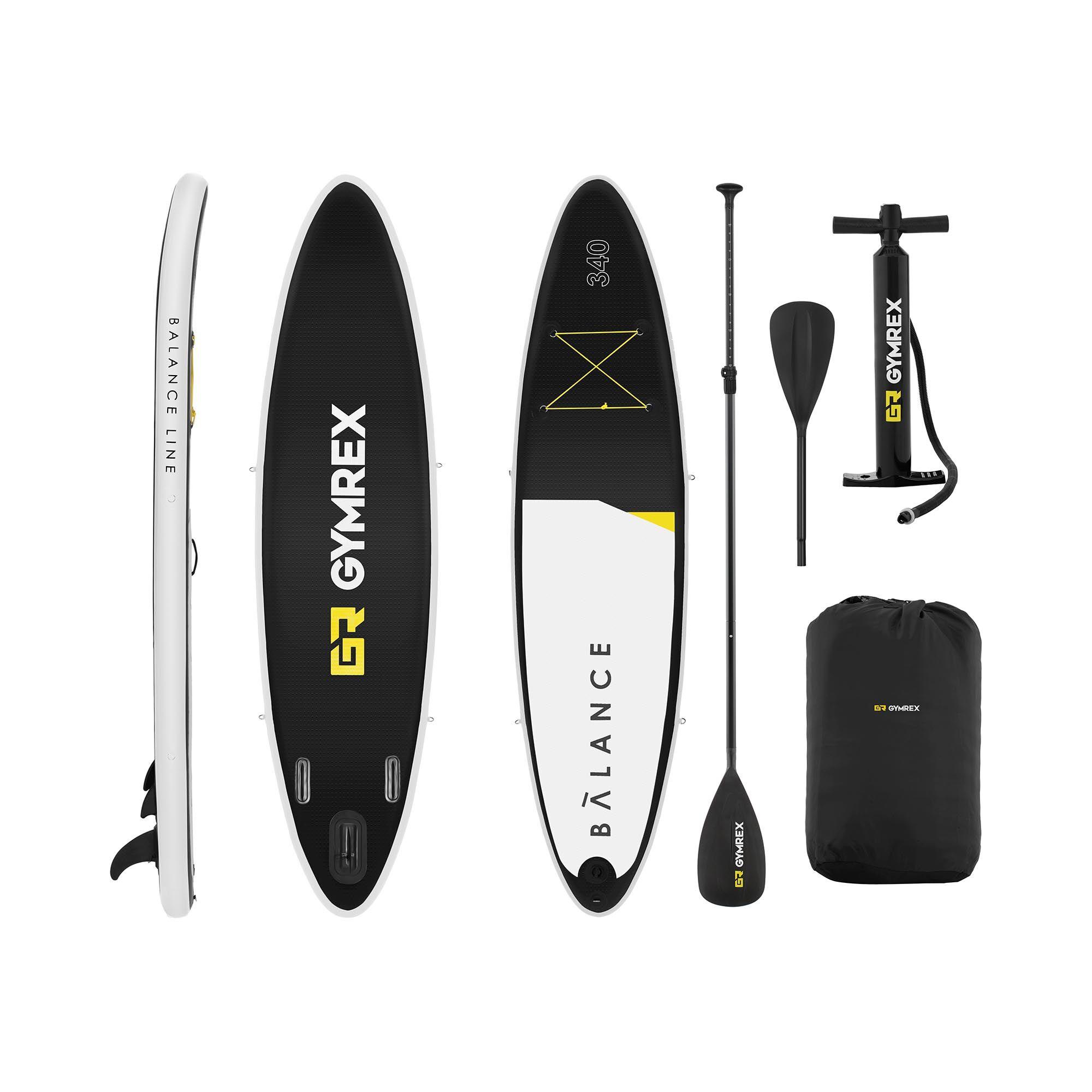 Gymrex Paddle-board - 145 kg - 335 x 79 x 15 cm GR-SPB340