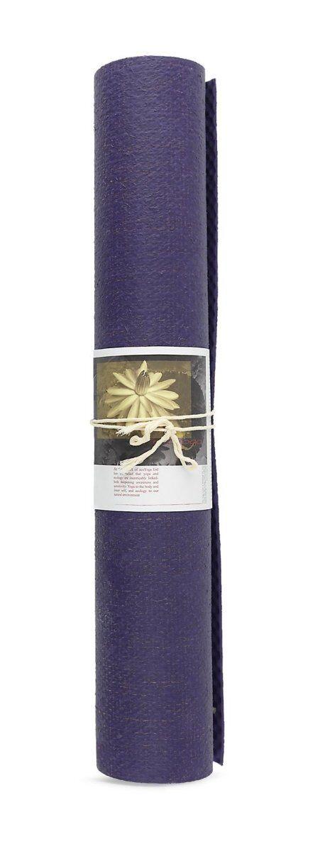 Ecoyoga Måtte - Lavendel 4 Mm