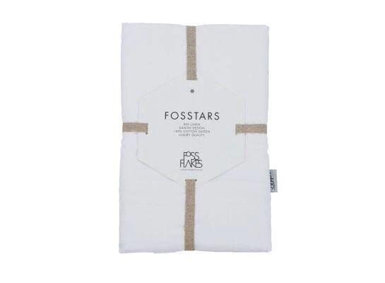 Fossflakes Betræk Til Fossflakes Comfort I Pude, Hvid Bomulds Satin, Økologisk