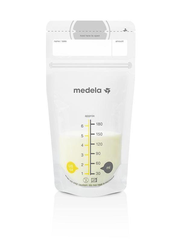 Medela Opbevaringsposer Til Brystmælk, 50 Stk., Medela