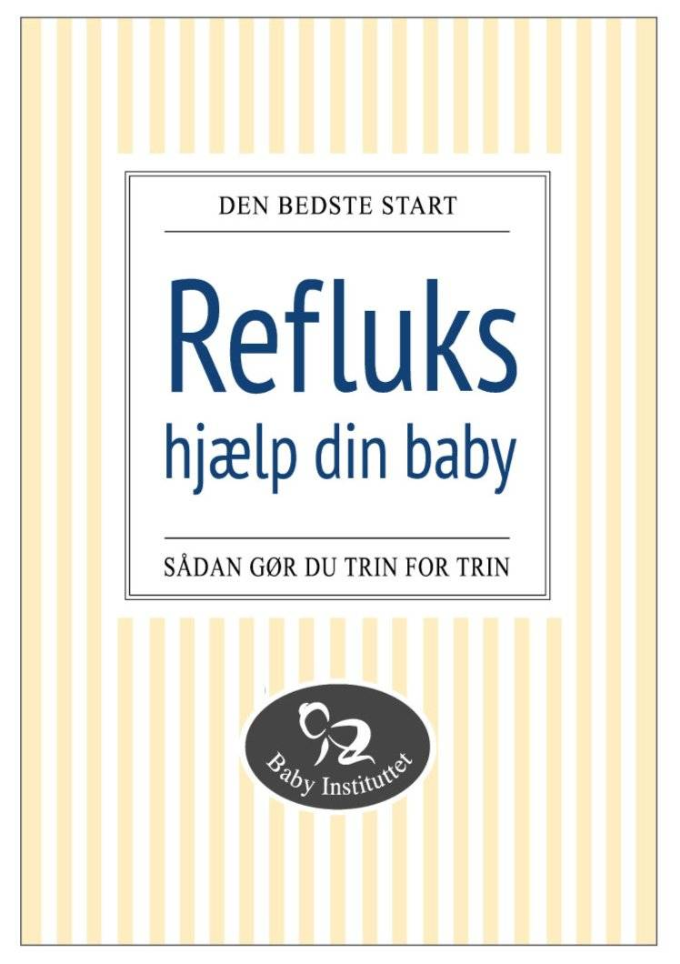 Camilla Kristiansen Refluks - Hjælp Din Baby, Bog Af Camilla Kristiansen