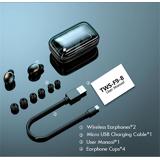 Tws F9 Høretelefoner Med 2200 Mah Powerbank