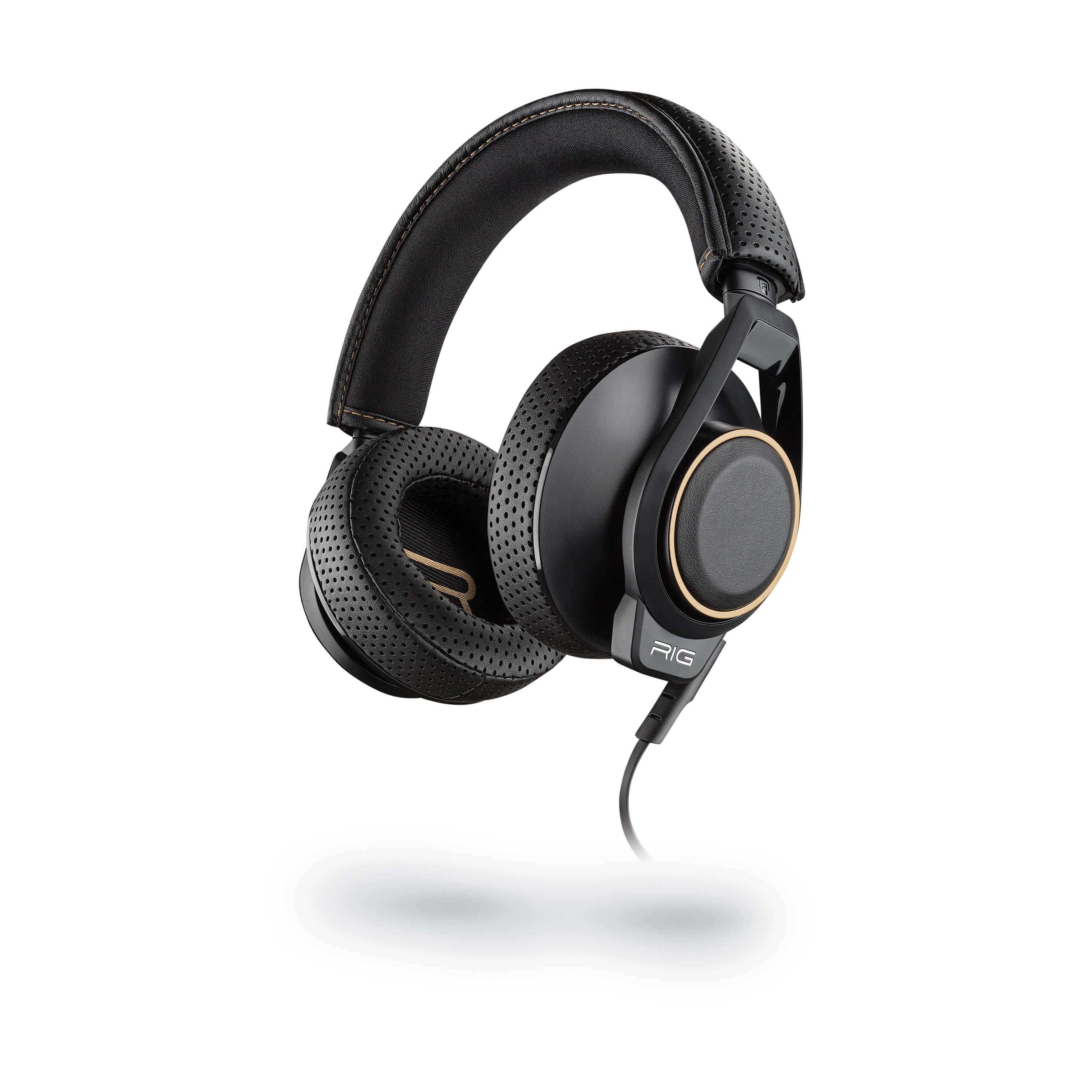 hjemmeudstyr Plantronics Gaming Headset Rig 600 Xbox/ps4/pc Sort