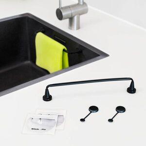 By Magnet   Reenbergs Magnetisk Karkludholder Flex til Specialvask - Sort