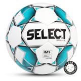 Select Royale Fodbold - Str. 5 Hvid/Turkis