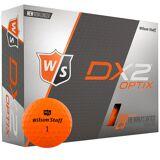 Wilson Dx2 Optix Golfbold - Orange