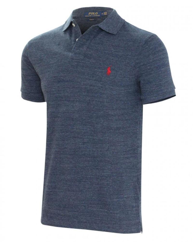 Ralph Lauren Polo Ralph Lauren Slim Fit Polo Blue Str L