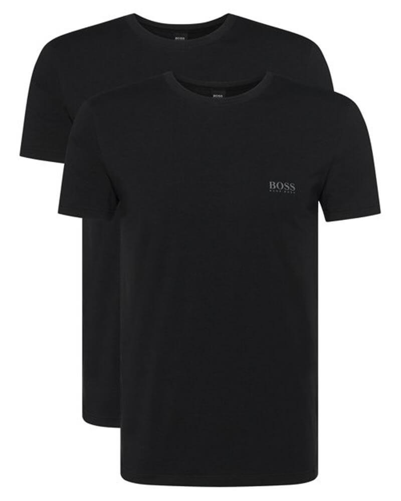 Boss Hugo Boss 2-pack T-Shirt Black - Str. L   2 stk.