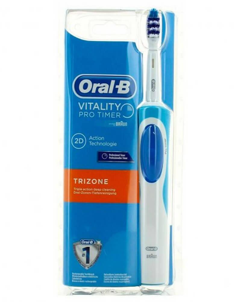 Oral B Braun - Oral B Vitality Pro Timer Trizone, eltandbørste