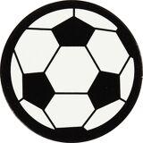 Happy Moments Kartonmærkat   Rund   Fodbold