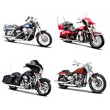 Maisto Harley-Davidson, Modelmotorcykel I Æske, 1 Stk., 1:12