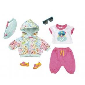 Baby Born Cykel Deluxe Outfit