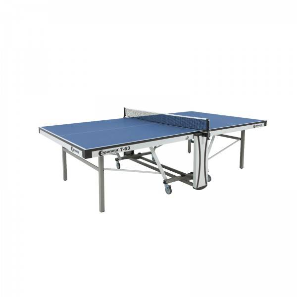 Sponeta bordtennisbord til konkurrencebrug S7-62/S7-63 blå
