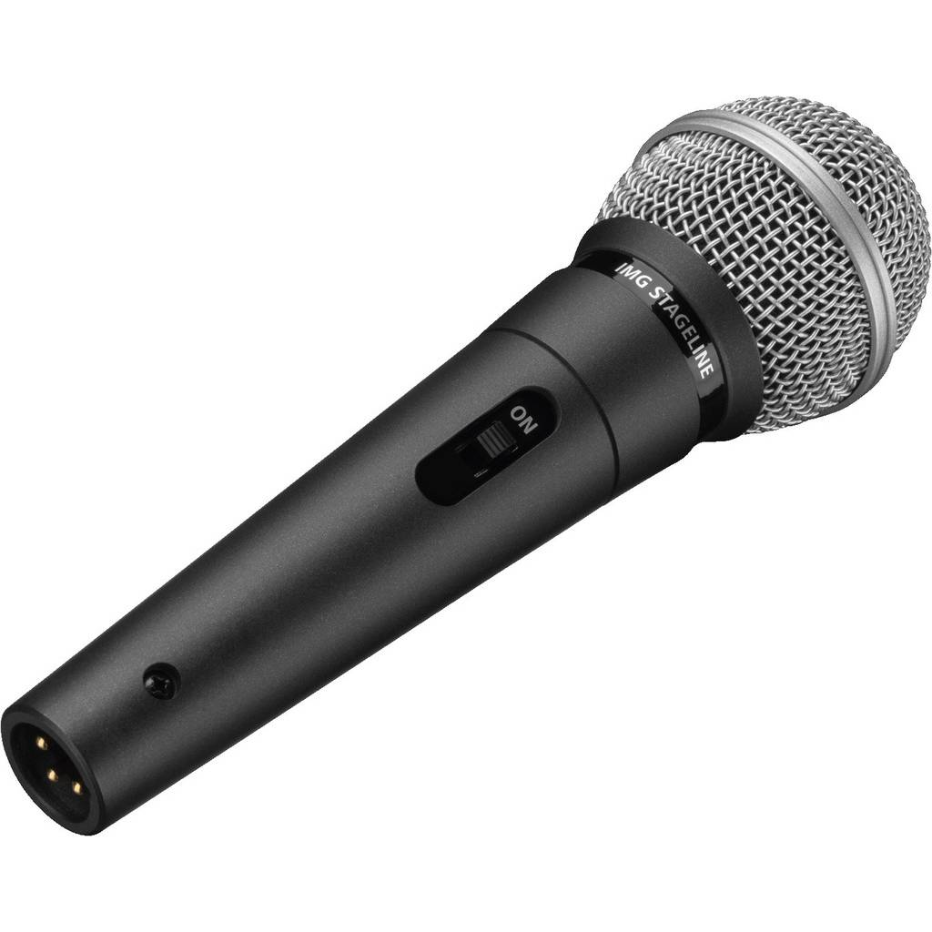 MONACOR Håndholdt Dynamisk Mikrofon - Dm-3s