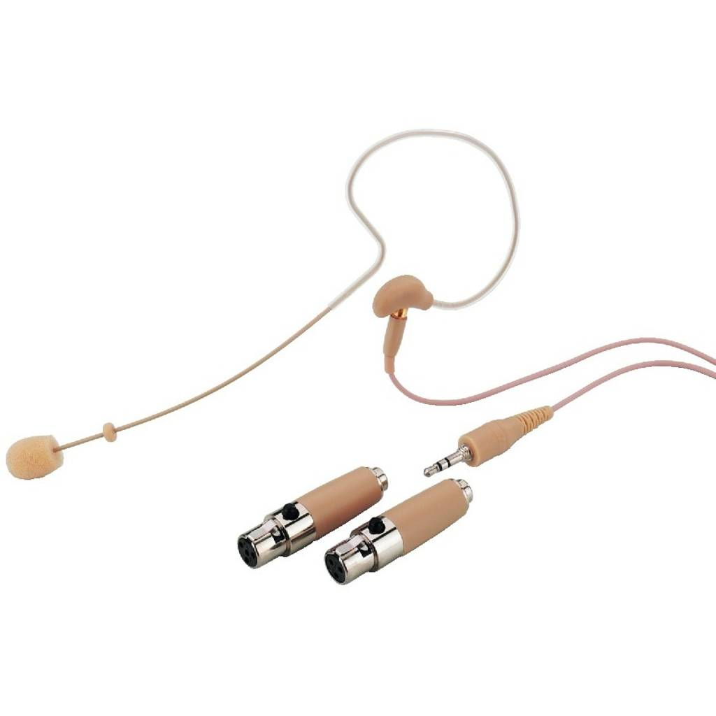 MONACOR Øremikrofon Headset Mikrofon Hse-70a/sk