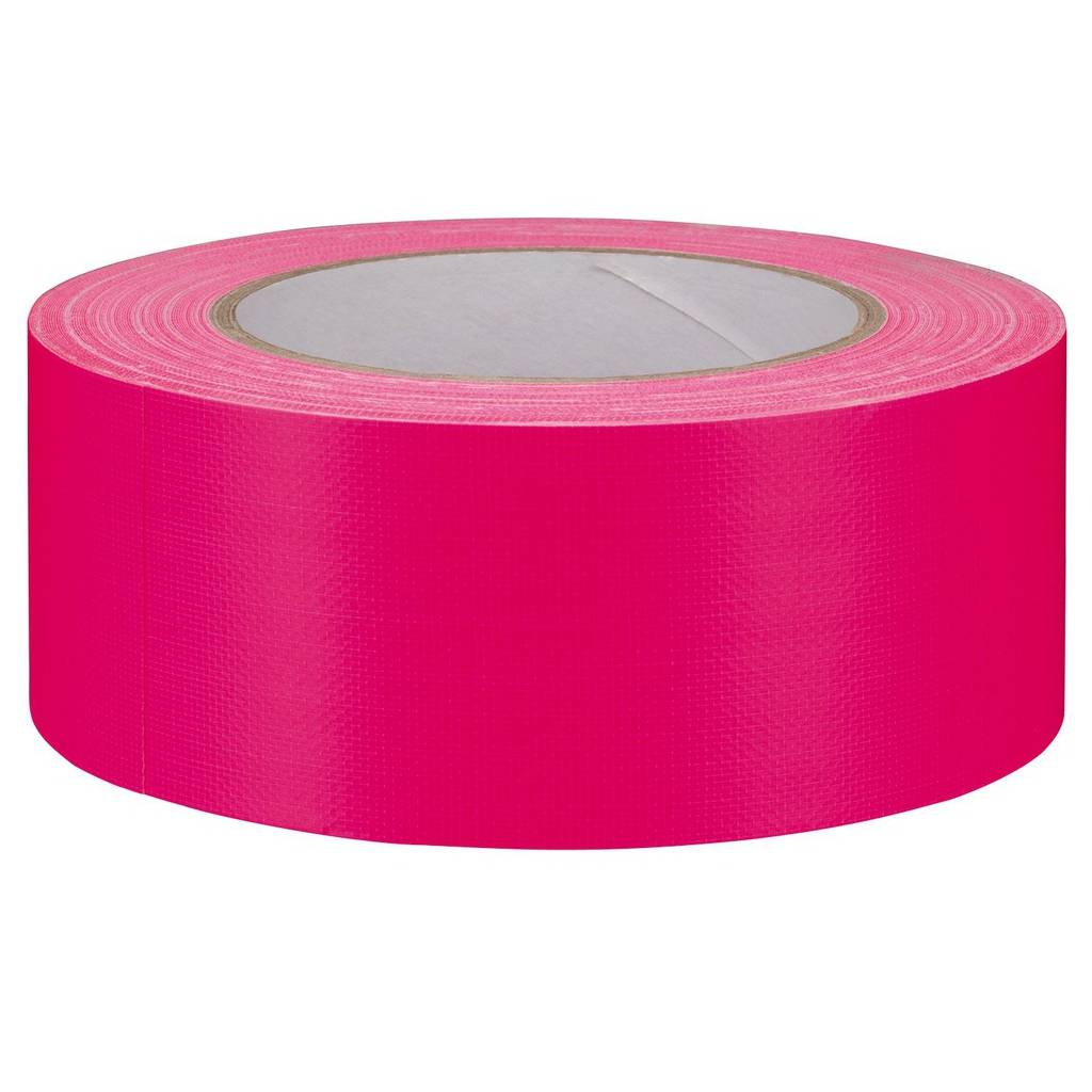 MONACOR Gaffa-Tape Neon Pink - Gb-50/npk