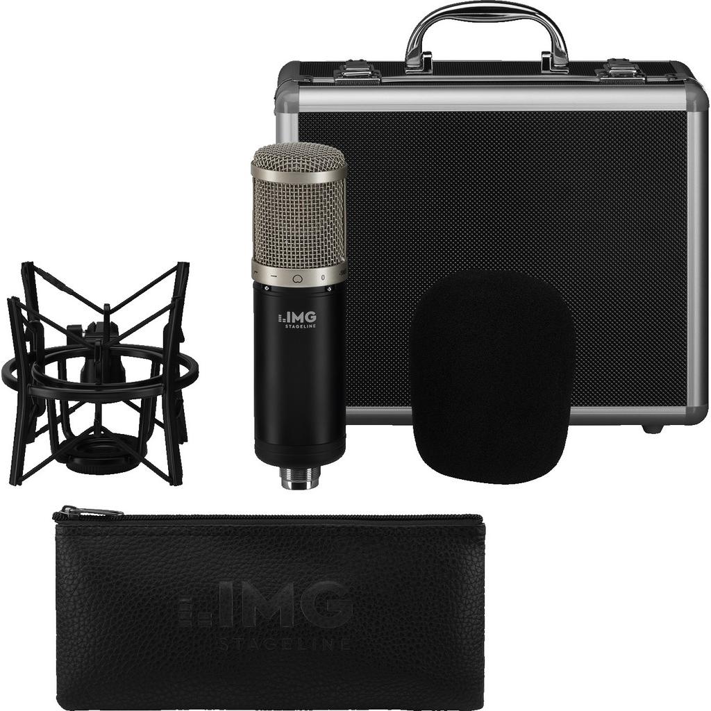 Img stageline Studie Mikrofon Til Studiebrug Xlr - Img Stageline Ecms-90