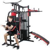 Epsilon Hjemme fitnesscenter Multigym 8000 - 100 kg vægte