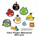 Home-tex Wall Sticker - Angry Birds - 20 Forskellige - 3d Effekt
