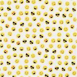 Creativ Company Gavepapir, Smiley, B: 57 Cm, 80 G, 150 M/ 1 Rl.